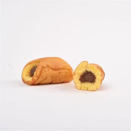 Waffuru Chocolate Custard